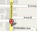 map to Commercial Drive Food Store, 2064 Commercial Dr, Vancouver BC