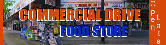 Commercial Drive Food Store, 2064 Commercial Dr, Vancouver BC